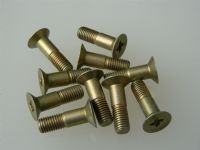 "10 x 1/4"" UNF Screw Steel Countersunk Length 7/8"" Part AS65010-4-7 [L10]"